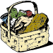 Essenskorb food basket