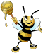 Biene Honey Bee 75px
